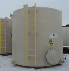 chemical tank water treatment FRP